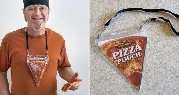 Is this how you carry your pizza?