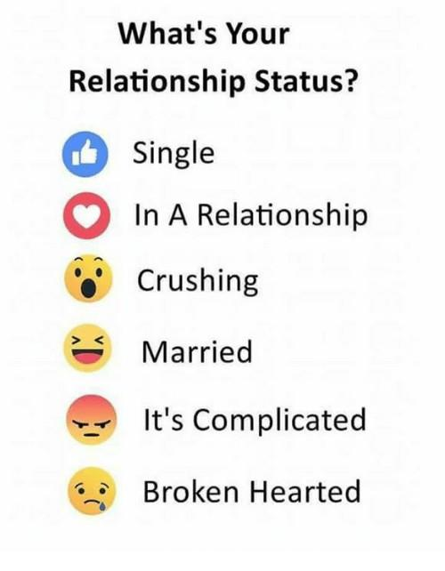 What is your relationship status and why?