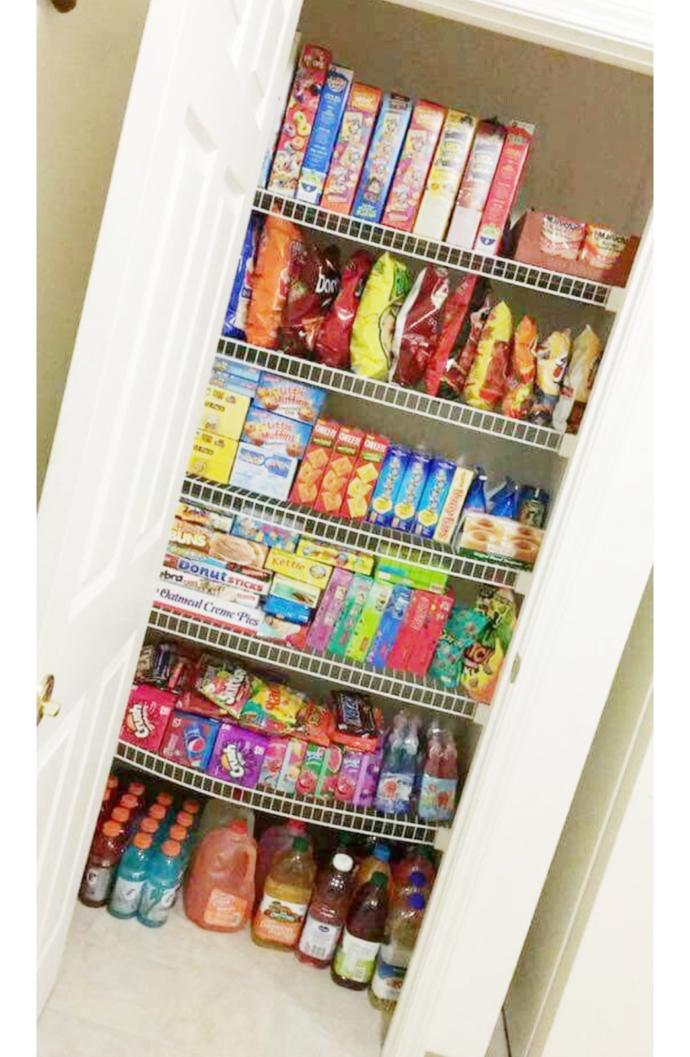What would you steal from this snack closet?