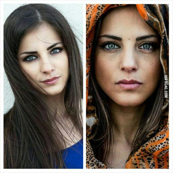 which girl would you choose to ask for a date based on her cultural background or her unusual exotic looks?