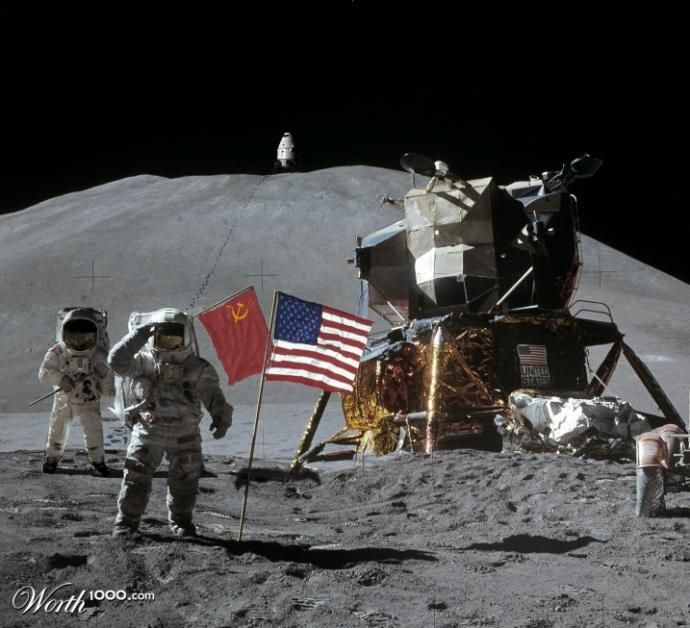 Do you think that the first moon landing was faked?