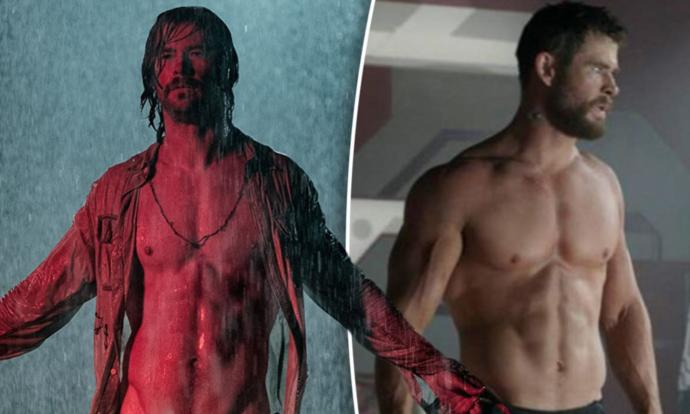 Which version of Chris Hemsworth is more attractive?