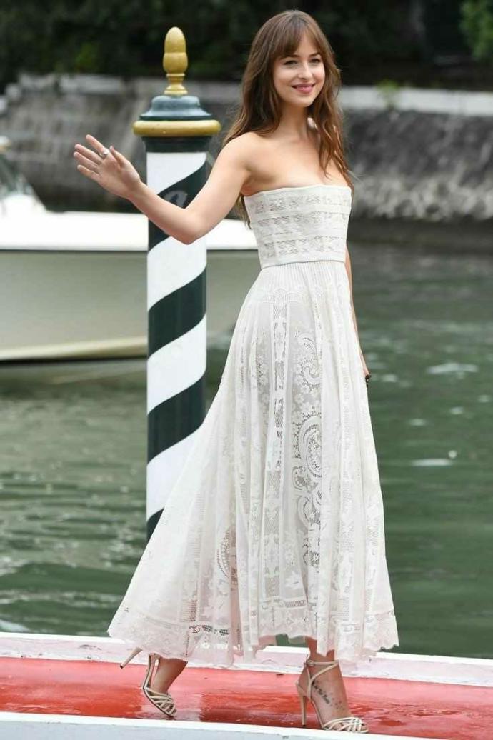 Do you think Dakota Johnson is beautiful or average looking?