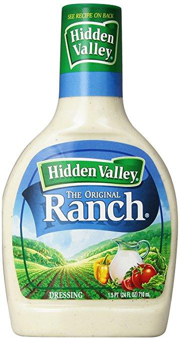 The only acceptable ranch dressing.