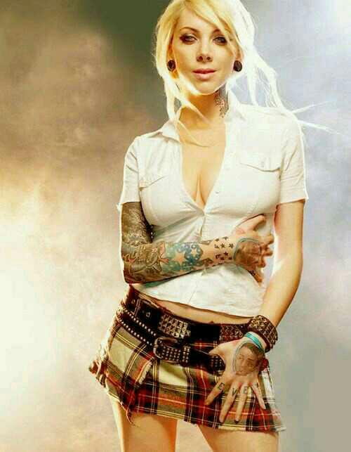What do you think of Maria Brink?