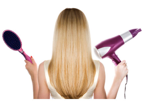 Do you blow-dry or do you let it dry naturally?