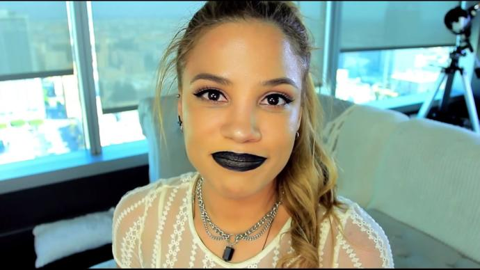Men, what do you think of ladies with black lipstick?