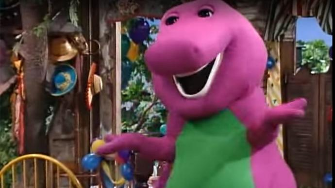 Did Barney creep you out as a child?