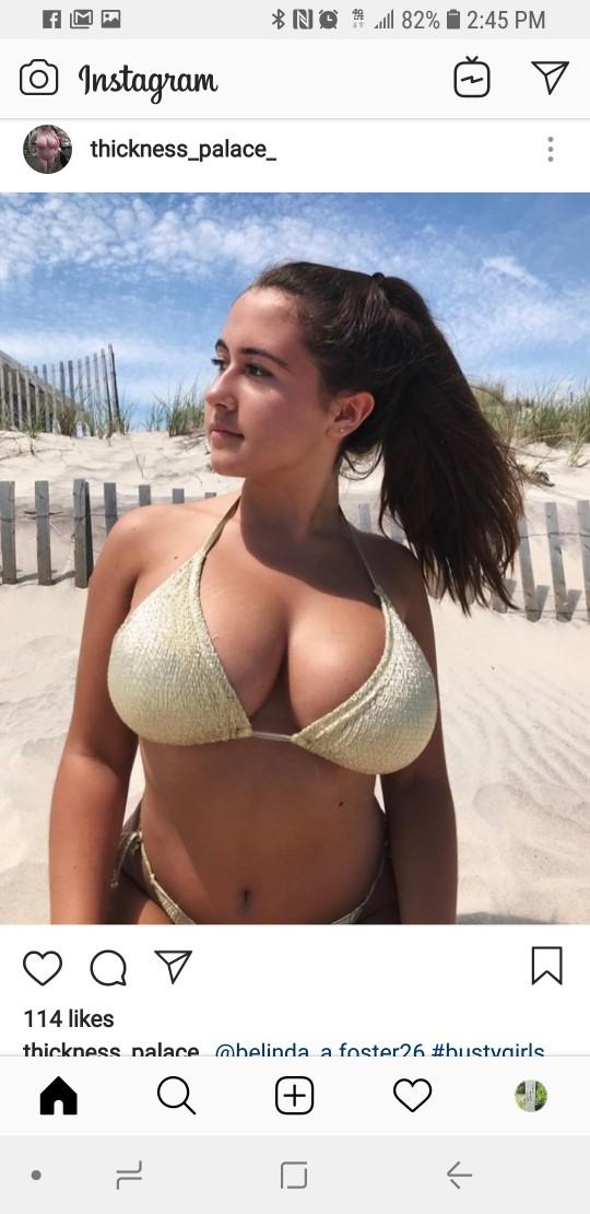 Do you think her breasts are too big?