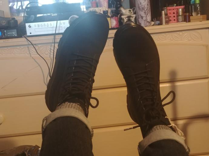 Do these shoes look too masculine?