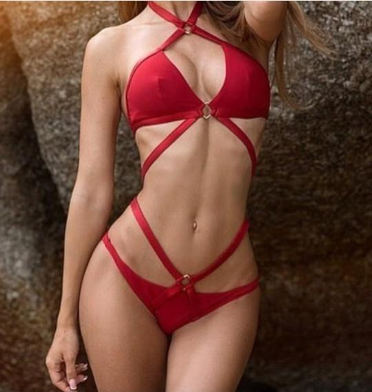What do you think about those red bikini?