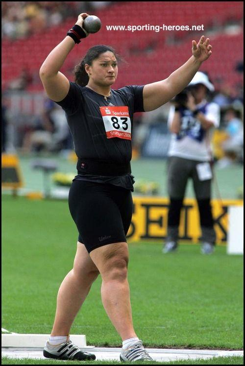 Who of you thinks that he/she could beat valerie Adams in a wrestling match?