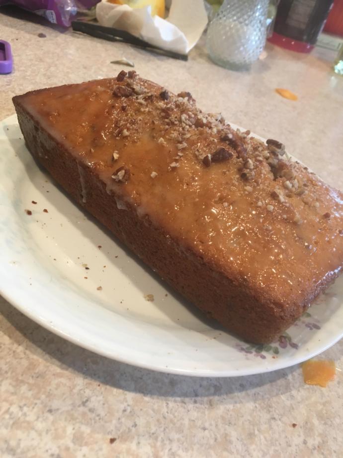 Rate my pound cake?