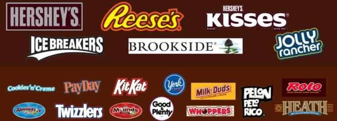 Which of these three major candy companies do you like more?