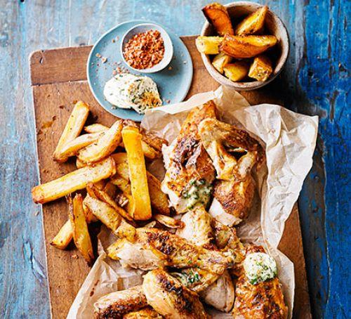 Do you like chicken and chips?