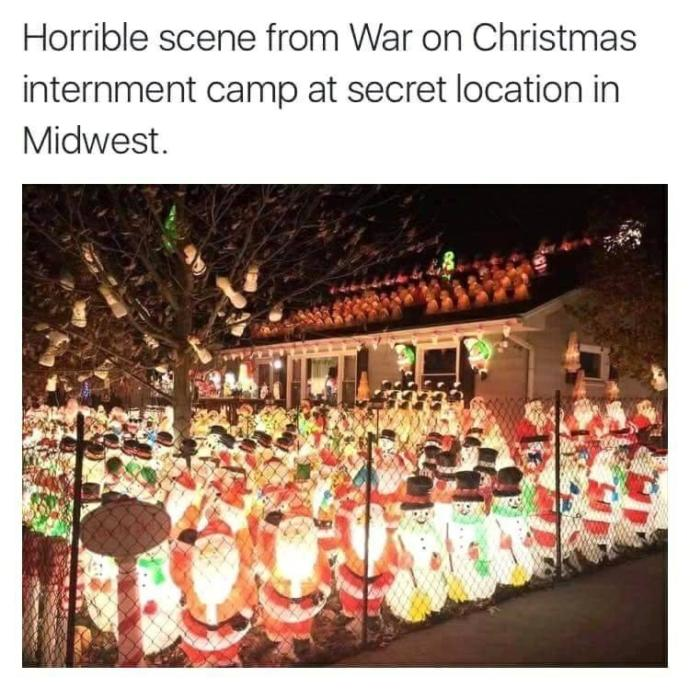 Liberals are you going to renew your war again this year on Christmas?