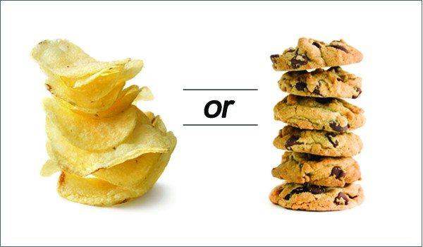 Do you prefer salty or sweet food?