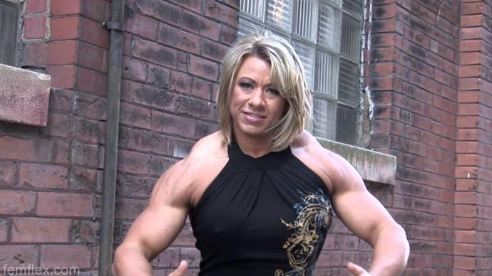 Are girls that lift attractive? do you like muscles on a woman?