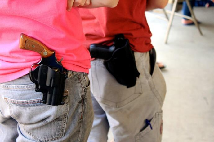 Do you think open carry should be allowed in all states?