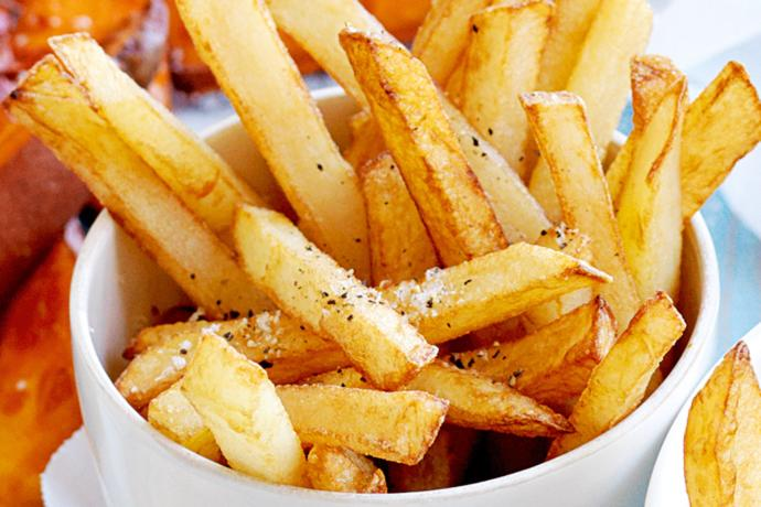 You bite the fry, the fry bites back my man ! What do you think about fries?