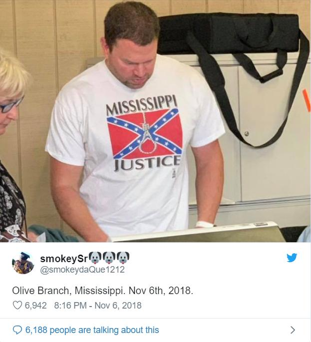 Man fired from his nursing job after wearing a racist shirt to the election polls. Should he have been fired?