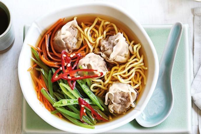Do you like noodle soup?