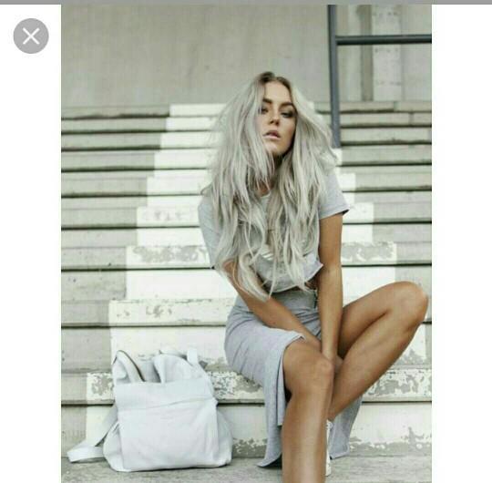 Do you guys like icy platinum hair?