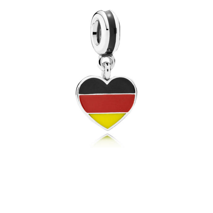 My German flag charm <3