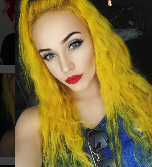 What unnatural hair color you like best on girls?