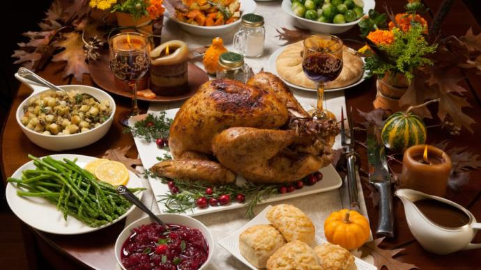 What is your favorite food at Thanksgiving dinner?