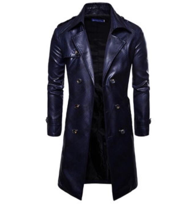 What would girls think of a guy in a leather trenchcoat?