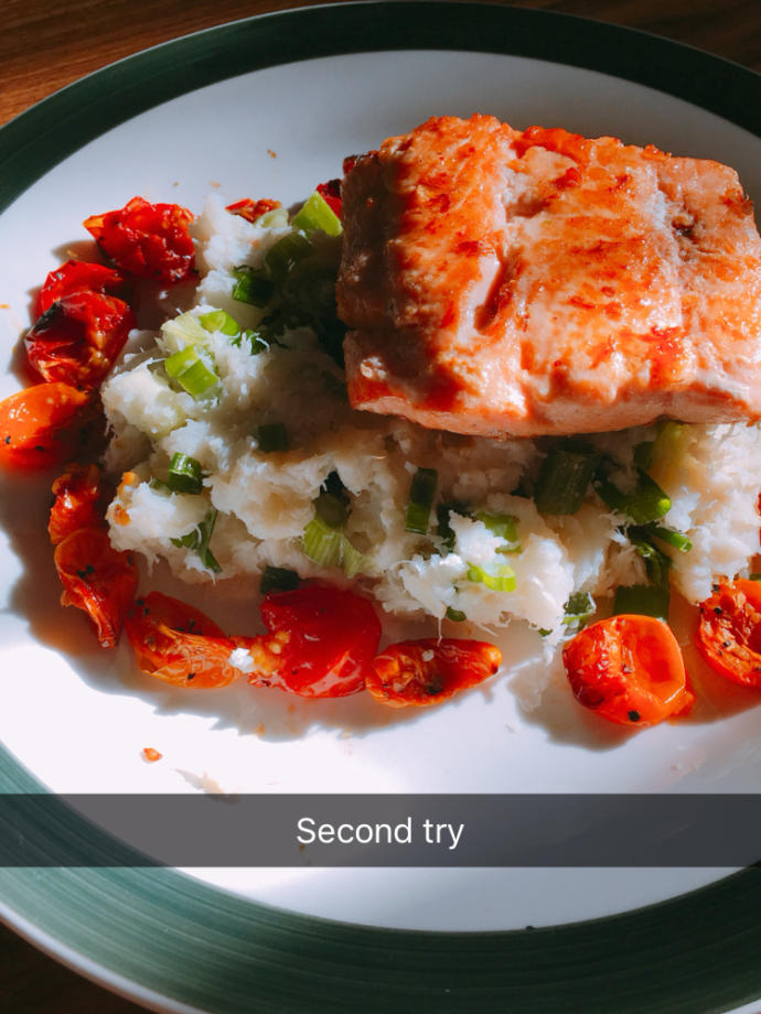 Why did people screenshot my food on Snapchat?