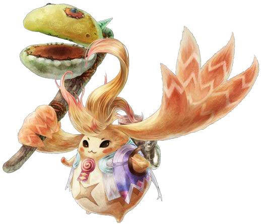 Riki from Xenoblade Chronicles for the Nintendo Wii and Nintendo 3DS!