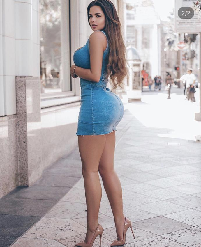 Do you think she's hot or too fake?