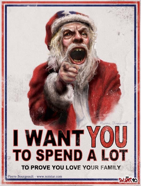 Are you irritated by the materialistic, self-absorbed, superficial message of the holiday season?