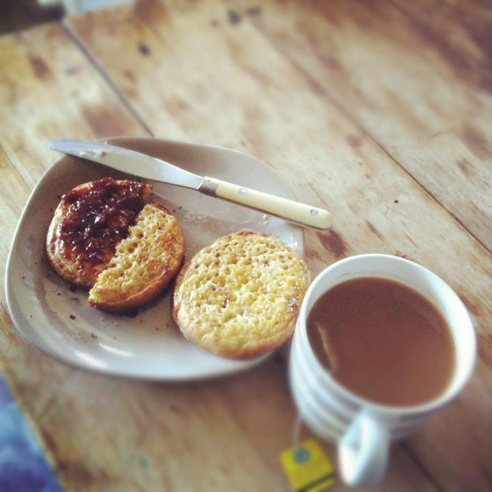 Would you date a man who drank tea and ate crumpets for breakfast or is that too gay?