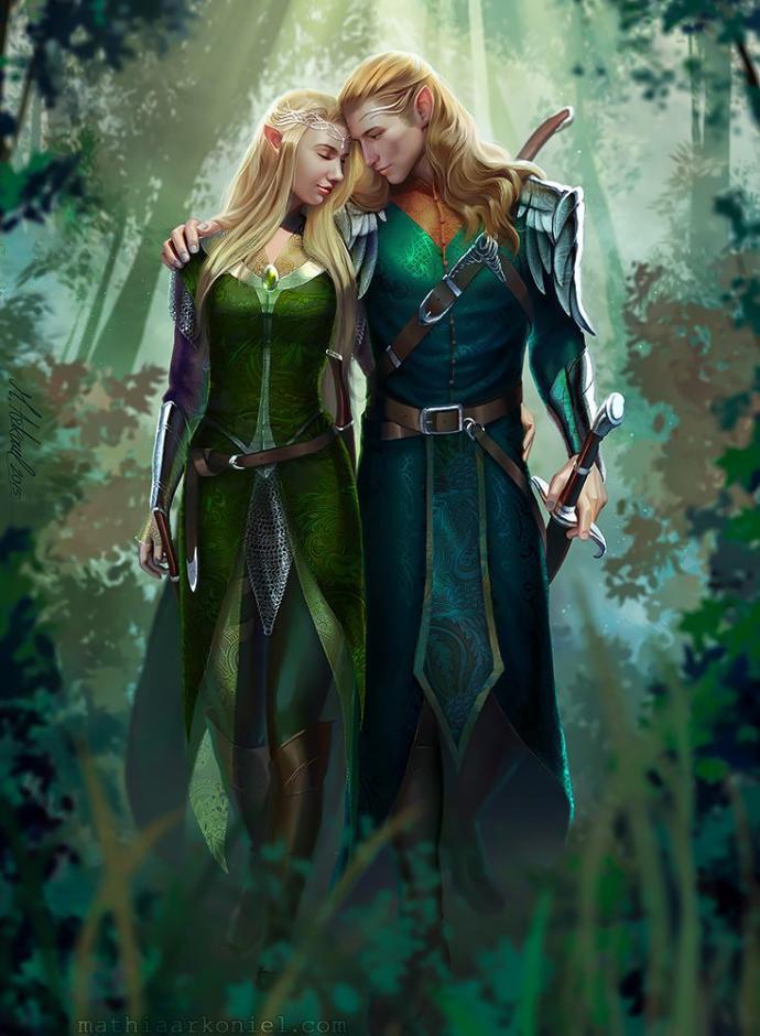 Nordic elves