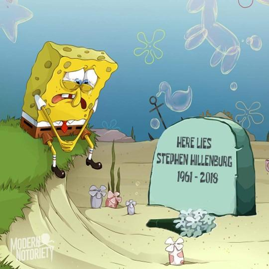 Spongebob creator, Stephen Hillenburg just passed away yesterday. What are your thoughts?