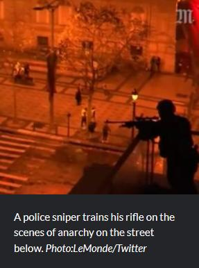 The French government is now deploying snipers to take down yellow vest protesters, thoughts?