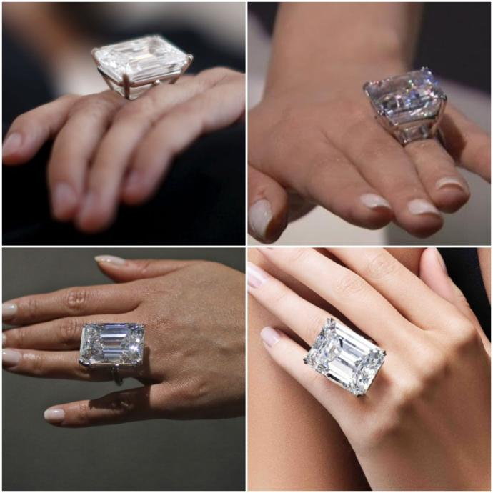 Ladies, if your fiance could afford it, would you like a 100 karat diamond engagement ring?