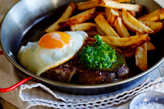 Do you like steak egg and chips?