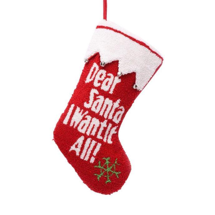 Do you still hang up a stocking at Christmas?