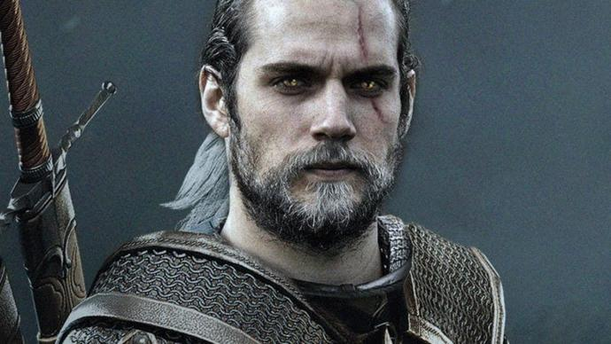 Does Henry Cavill look good as a Witcher?