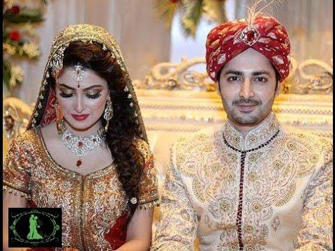 Aiza with her husband called Danish, he is a Pakistani actor and she is an actress