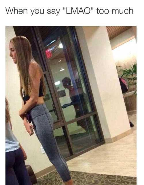 How would react if your boyfriend suggested to do squats?