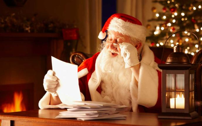 Have you ever written a letter to Santa?