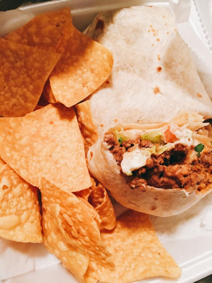 What's better than burritos and chips?