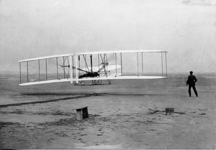 Did you know 115 years ago today the Wright Brothers took their first powered flight?