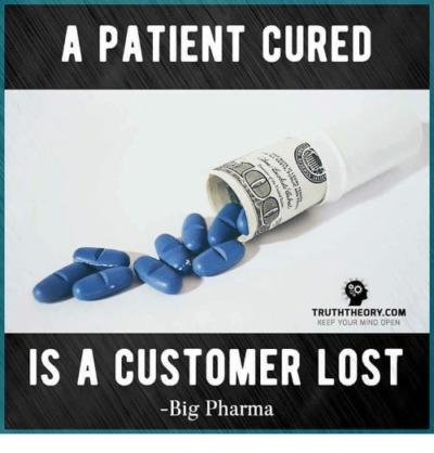 Do you agree with the notion that big pharmaceutical