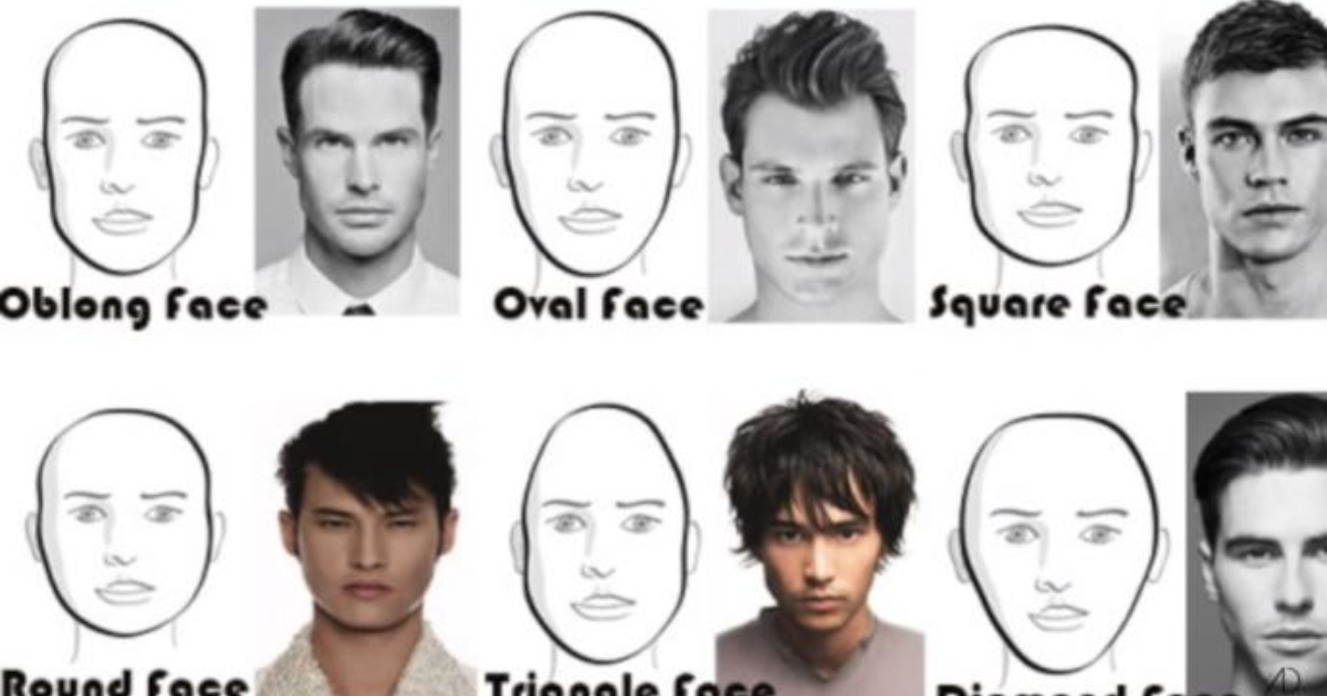 What male face shape do you find most ideal? - GirlsAskGuys
